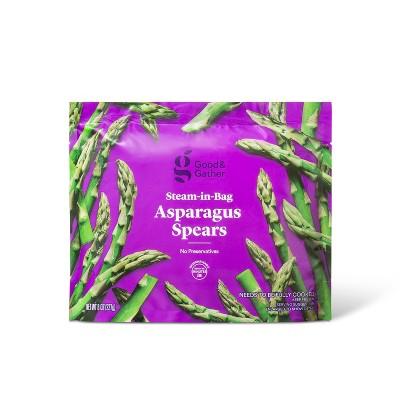 Frozen Steam-in-bag Asparagus Spears 8oz - Good & Gather™