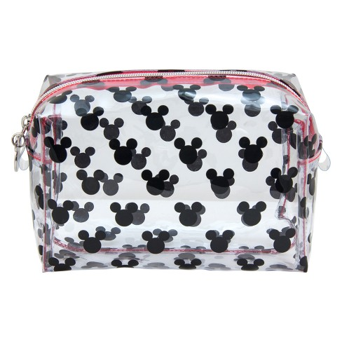 Disney Mickey Mouse Friends Vintage Heads Cosmetic Bag
