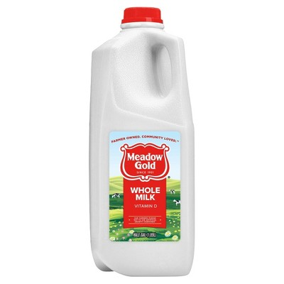 Meadow Gold Whole Milk - 0.5gal
