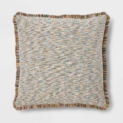 Fringe Jacquard Euro Pillow - Opalhouse™