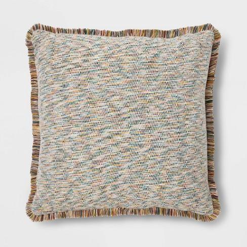 Fringe Jacquard Euro Pillow - Opalhouse™ - image 1 of 4