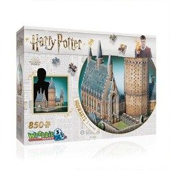 Wrebbit Harry Potter Hogwarts Great Hall 3D Puzzle 850pc