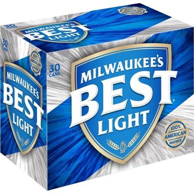 Milwaukee's Best® Light Beer - 30pk / 12oz Cans