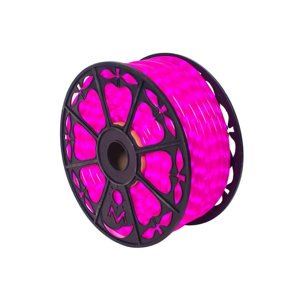 Image of Vickerman 150ft Fluorescent Rope Light LED Pink