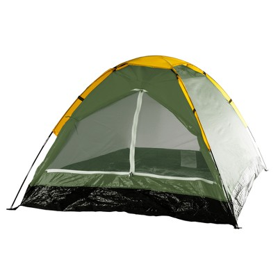 Wakeman Outdoors Happy Camper Two Person Tent - Leafy Green