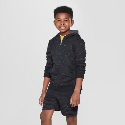 9b9189261e4a Boys  Moto Zip Hoodie - art class™ Black
