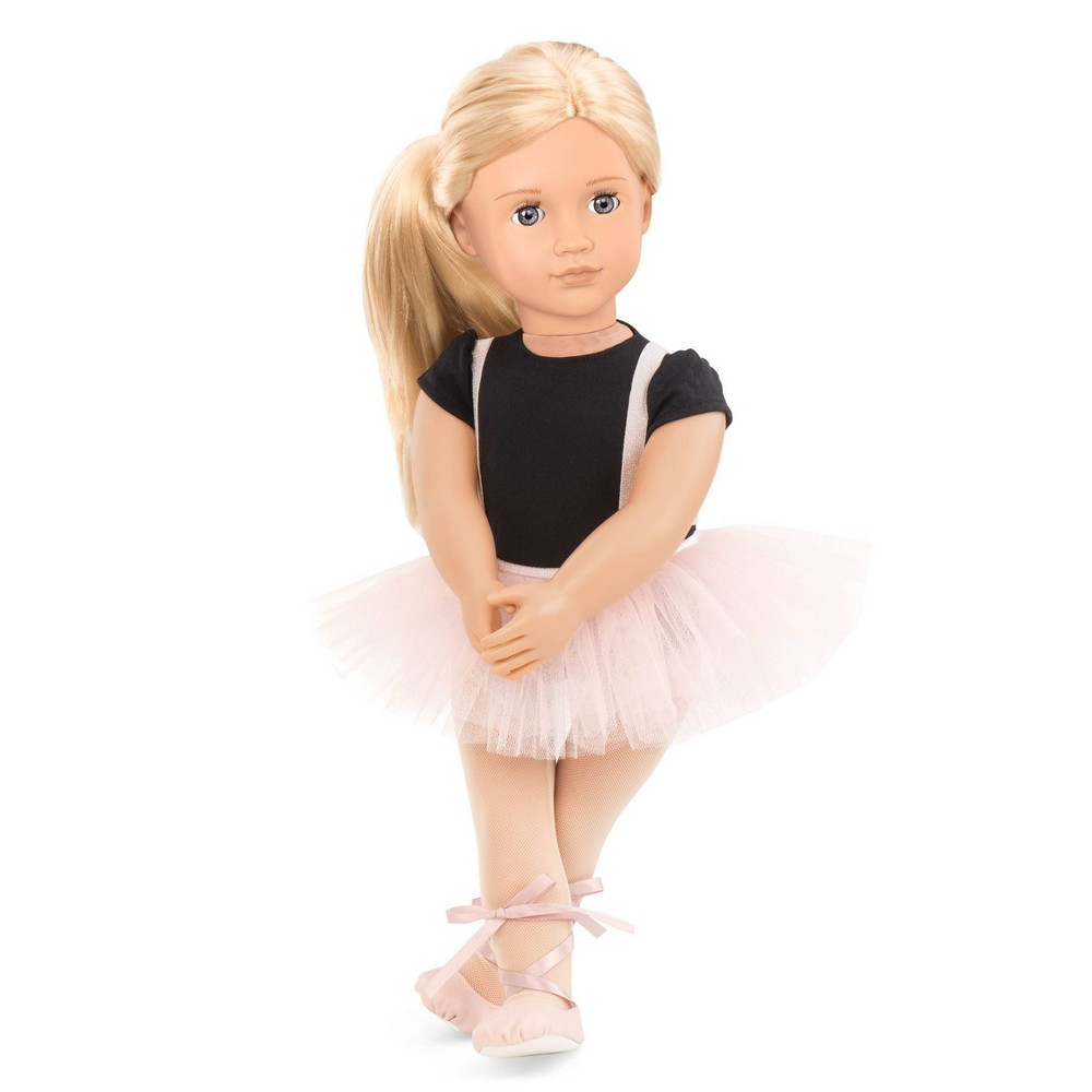 Our Generation 18 34 Ballet Doll Violet Anna