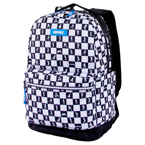 "Fortnite 17.5"" Multiplier Backpack - Black/White Check - image 1 of 4"