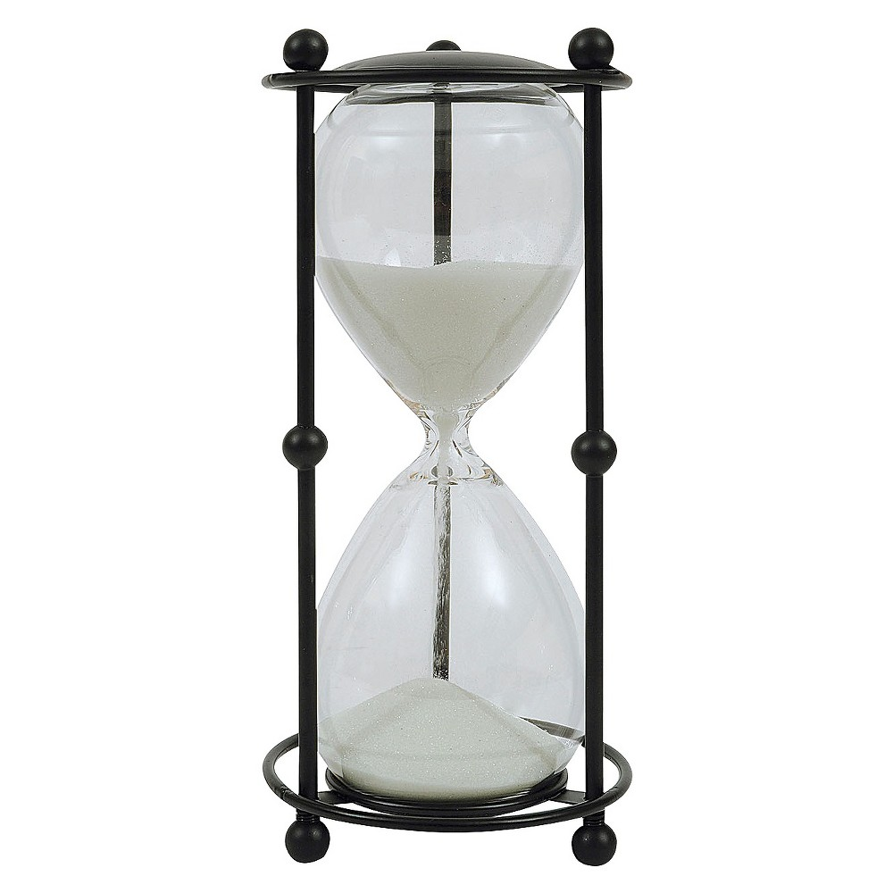 Image of Glass 6 Minute Timer (9), Multi-Colored