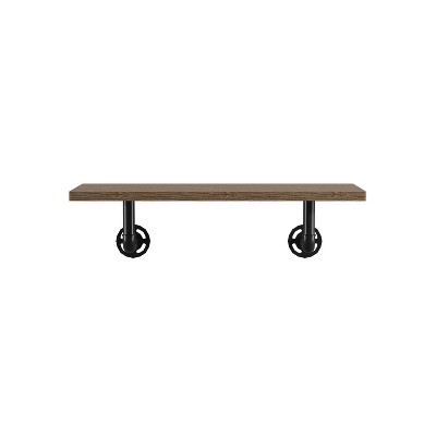 Dylan 1 Layer Floating Shelf Natural - ioHOMES