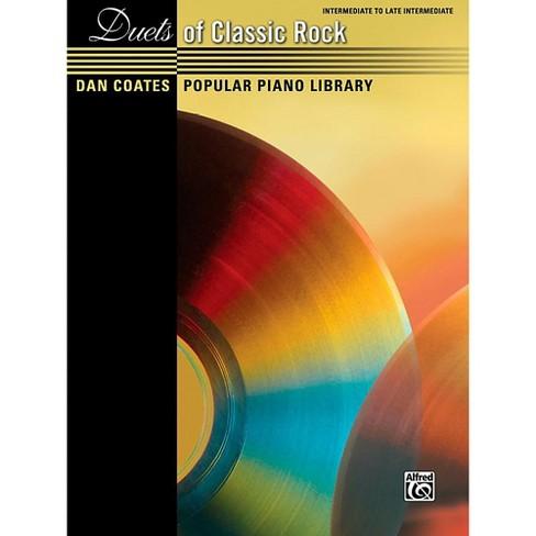 Alfred Dan Coates Popular Piano Library Duets of Classic Rock Intermediate / Late Intermediate Piano Book - image 1 of 1