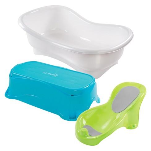 Summer Infant Comfort Height Bath Tub Multi Stage Tub And Step Stool Target