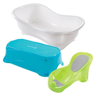 Exceptionnel Summer Infant® Comfort Height Bath Tub   Multi Stage Tub And Step Stool