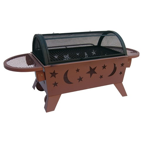 Landmann Northern Lights XT Fire Pit Steel - Black - image 1 of 3