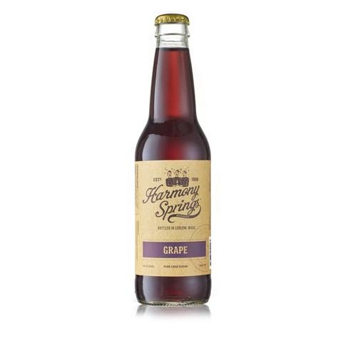 Harmony Springs Grape Soda - 12 fl oz Bottle - image 1 of 1