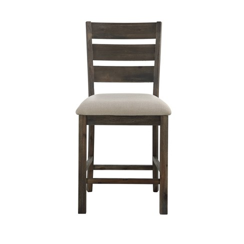 Superb 2Pk Aspen Court Counter Height Dining Chairs Charcoal Gray Christopher Knight Home Gmtry Best Dining Table And Chair Ideas Images Gmtryco