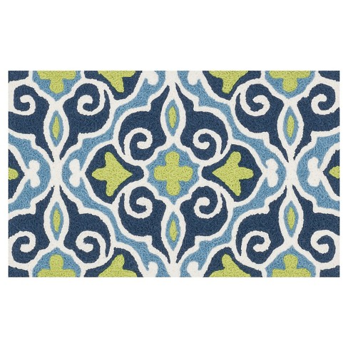"Loloi Angelou Accent Rug - Blue (1'8""X2'8"") - image 1 of 1"