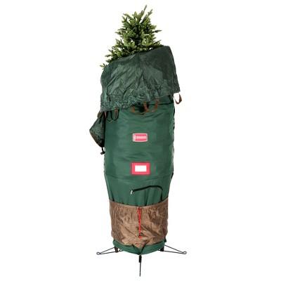 Northlight Medium Adjustable Green Upright Christmas Tree Protective Storage Bag Hold 6-7.5 Tree's
