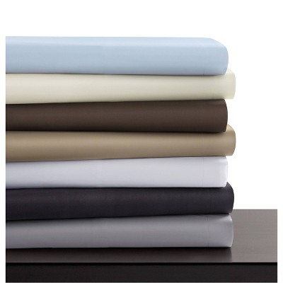 Cotton Sateen 600 Thread Count 3pc Oversized Duvet Cover Set - Tribeca Living