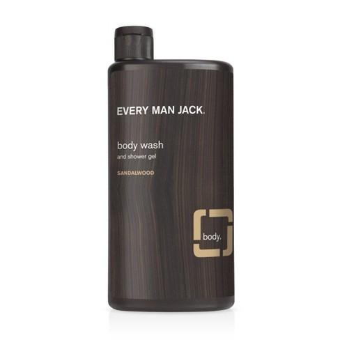Every Man Jack Body Wash Sandalwood - 16.9oz - image 1 of 3