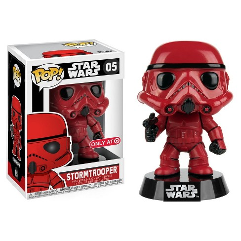 POP! Star Wars: Red Stormtrooper - image 1 of 3