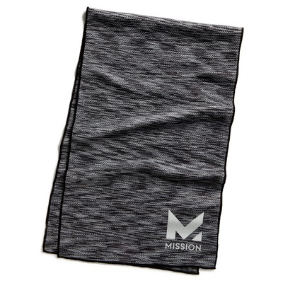 """Mission HydroActive Cooling Towel 10"""" x 33"""" Large Water Activated Qty 10"""