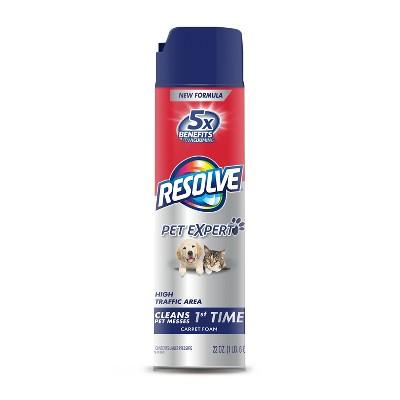 Resolve Clean & Fresh Pet Carpet Foam 22 oz