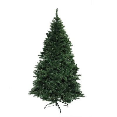 Northlight 7.5' Unlit Artificial Christmas Tree Buffalo Fir Medium - Unlit