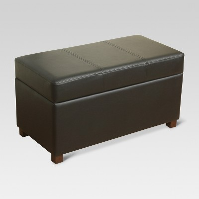 Essex Storage Ottoman - Black - Threshold™