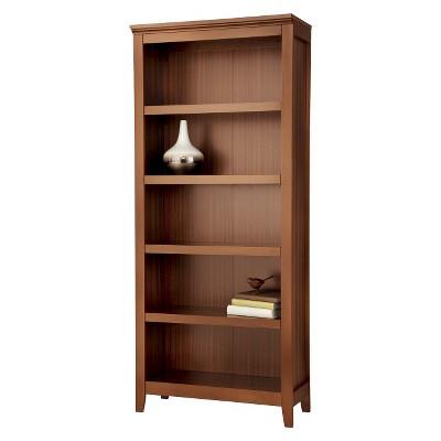 Carson 72  5 Shelf Bookcase - Midtone Cherry - Threshold™