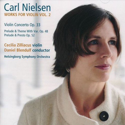 Cecilia zilliacus - Nielsen:Works for violin vol 2 (CD) - image 1 of 1