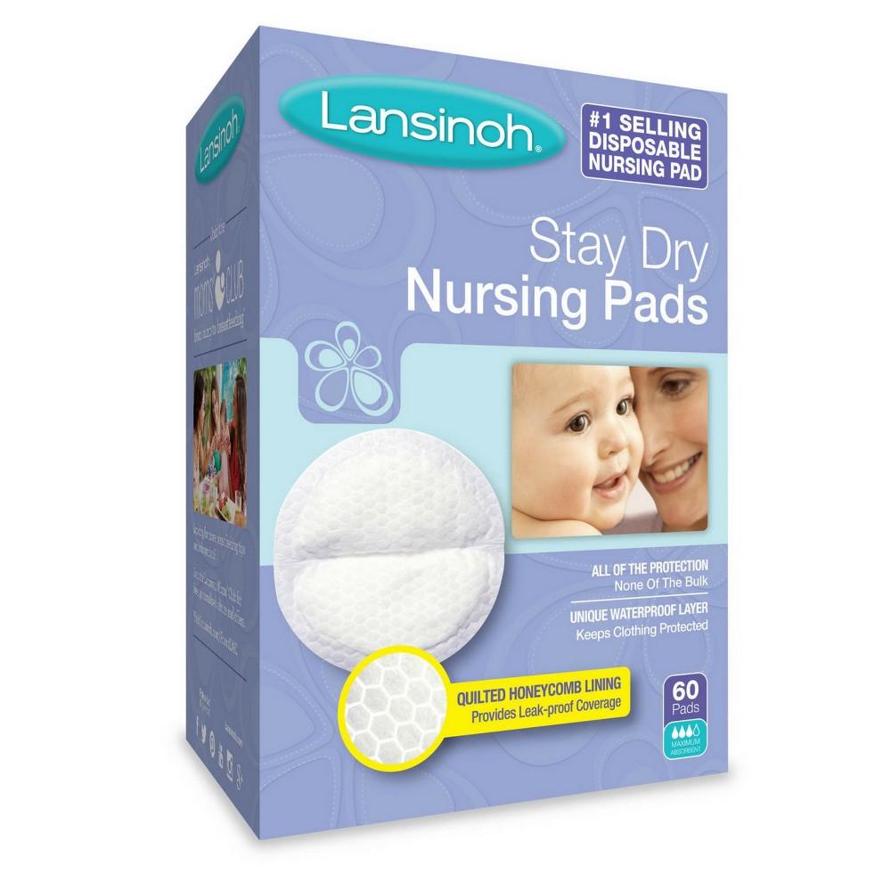 Lansinoh Disposable Nursing Pads 60ct, None - Dnu