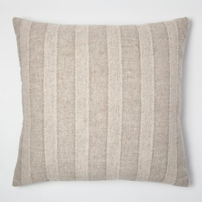 Linen Stripe Oversize Throw Pillow - Threshold™