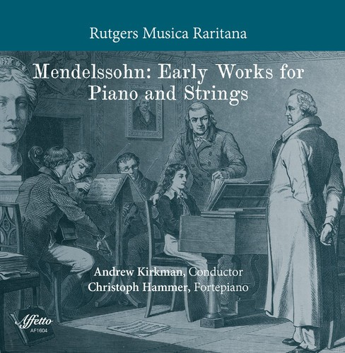 Christoph Hammer - Mendelssohn:Early Works For Piano & S (CD) - image 1 of 1