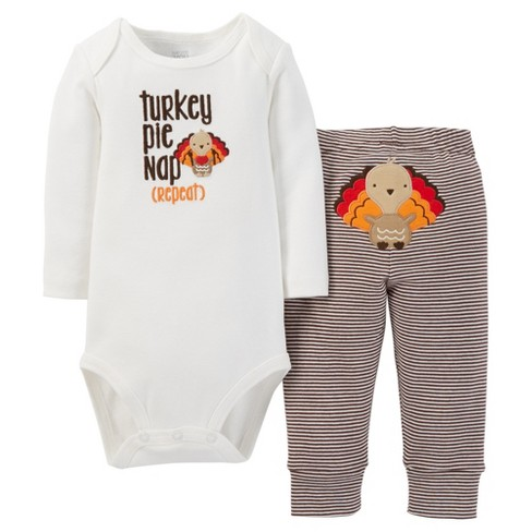 Baby Boys' 2pc Turkey Nap Set - Just One You™ Made by Carter's® - image 1 of 1