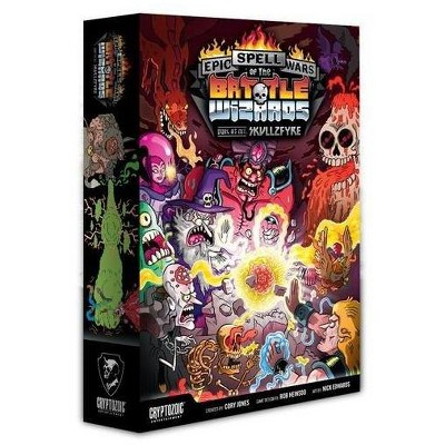 Epic Spell Wars of the Battle Wizards - Duel at Mt. Skullzfyre Board Game