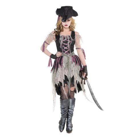 Women's Haunted Pirate Wench Halloween Costume - image 1 of 1