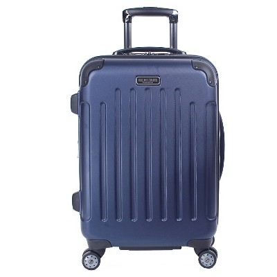 Heritage Logan Square Polycarbonate & ABS Blend Lightweight 8 Wheel Expandable Carry On Suitcase - Charcoal (20 )