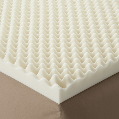 "Enhance Highloft 3"" Memory Foam Topper White - Future Foam - image 1 of 2"