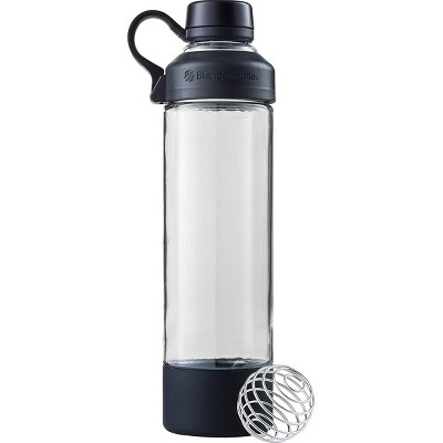 INNOKA 20 OZ Outdoor BPA Free Portable Glass Drinking Sports Bottle Turquoise