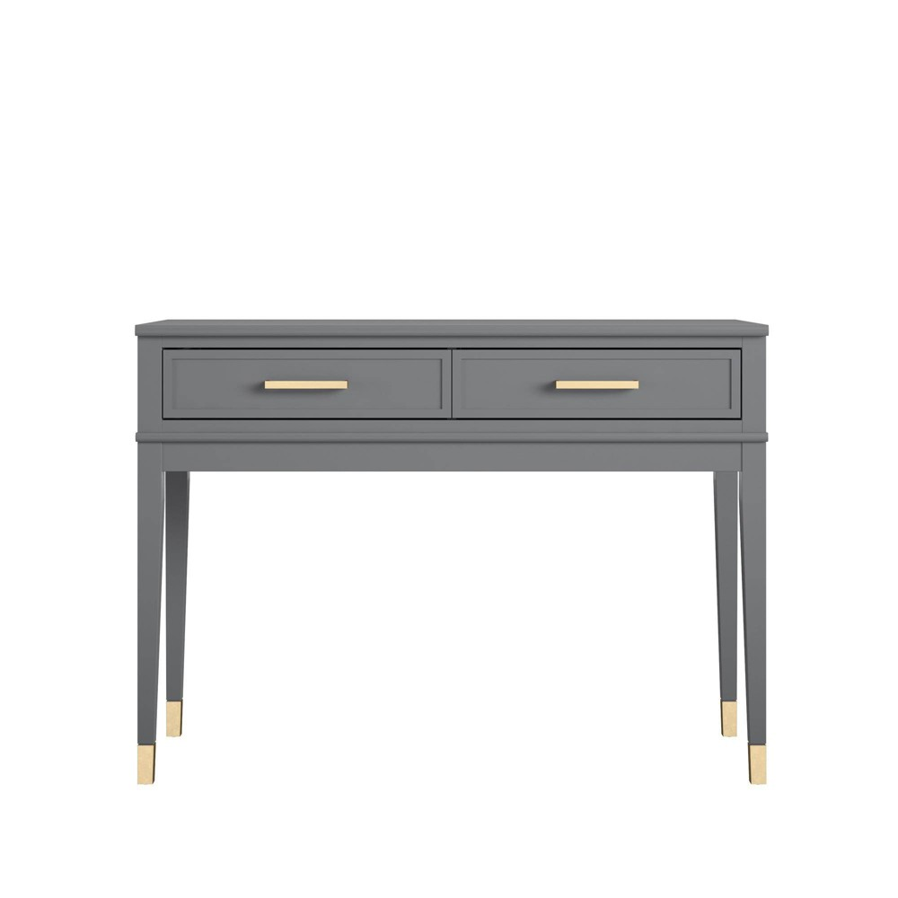 Westerleigh Console Table Graphite Gray Cosmoliving By Cosmopolitan