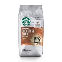 Starbucks Breakfast Blend Medium Roast Ground Coffee - 12oz