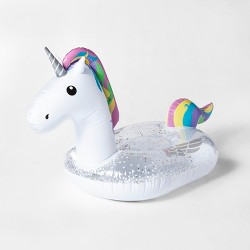 Unicorn Pool Float White - Sun Squad™