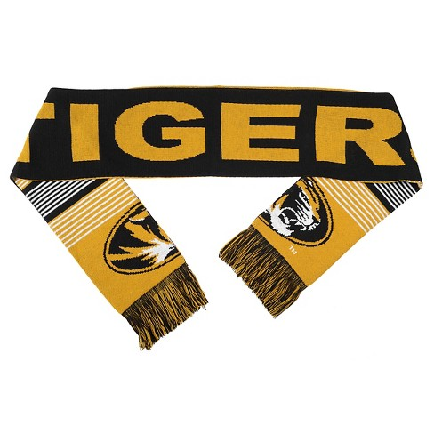 Forever Collectibles - NCAA Reversible Split Logo Scarf University of Missouri Tigers - image 1 of 2