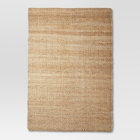 5'X7' Annandale Area Rug Solid Natural - Threshold™ - image 1 of 2