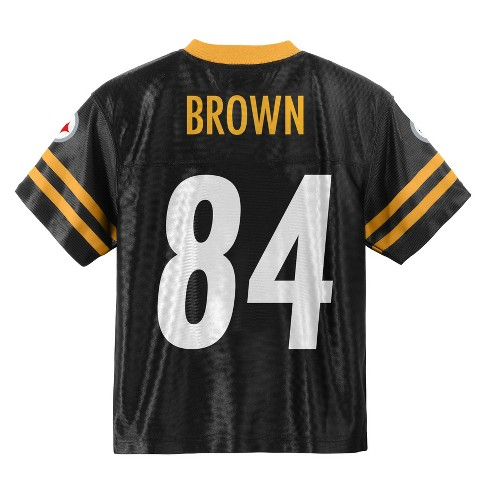 Pittsburgh Steelers Toddler Player Jersey 2T   Target ca236b9ee