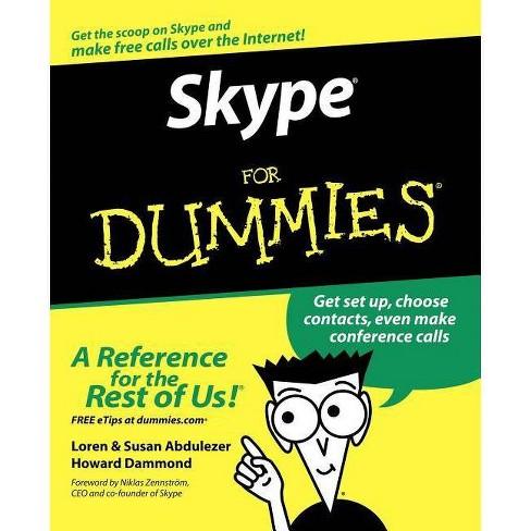 Skype for Dummies - by  Loren Abdulezer & Susan Abdulezer & Howard Dammond (Paperback) - image 1 of 1