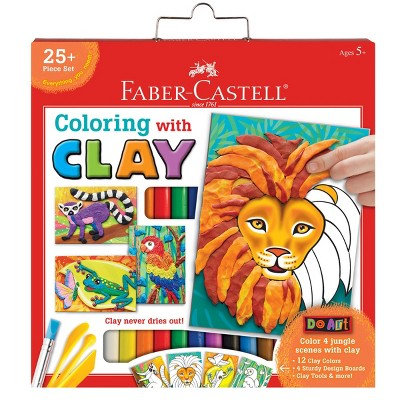 Faber-Castell Do Art 25pc Coloring with Clay Set