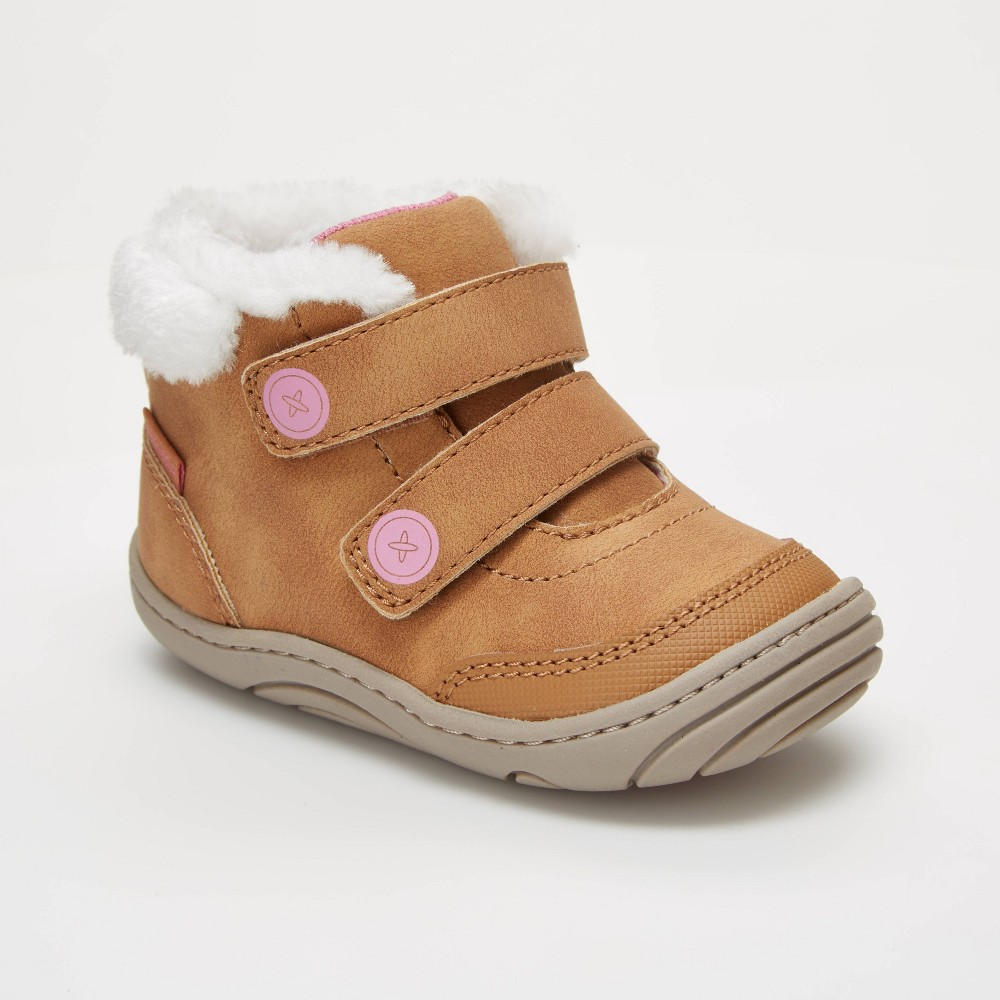 Image of Baby Girls' Surprize by Stride Rite Esther Boots - Brown 3, Girl's