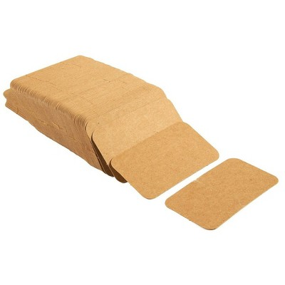 """Juvale 250-Count Blank Flash Cards, Index Card Perfect for Study, Language Learning, DIY, Note, 300 GSM Kraft Brown Paper, 2 x 3.5"""""""